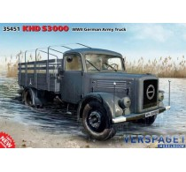 KHD S3000 WWII German Army Truck -35451