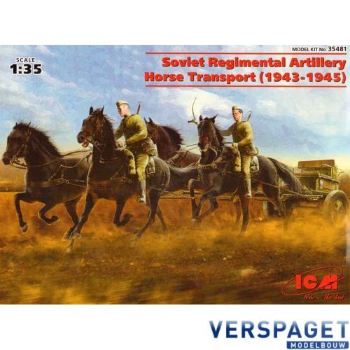 Soviet Regimental Artillery Horse Transport -35481