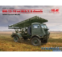 BM-13-16 on W.O.T. 8 chassis, WWII Soviet MLRS -35591
