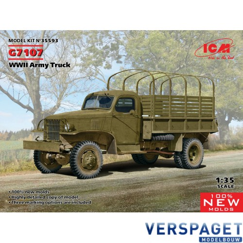 Chevrolet G7107 WWII Army Truck -35593