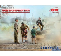 WWII French Tank Crew (5 figures) -35647