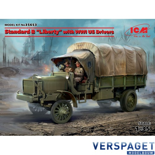 """Standard B """"Liberty"""" with WWI US Drivers -35653"""