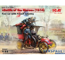 Battle of the Marne (1914), Taxi car with French Infantry -35660