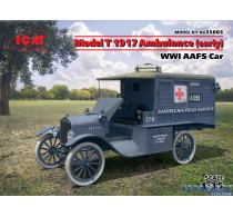 Model T 1917 Ambulance (early), WWI AAFS Car -35665