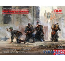 WWI Belgian Infantry -35680