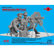 Preorder WWI Russian MG Team (2 figures) -35698
