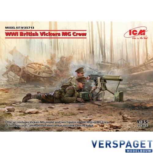 WWI British Vickers MG Crew -35713