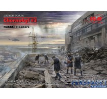 Chernobyl 3. Rubble cleaners 5 figures -35903