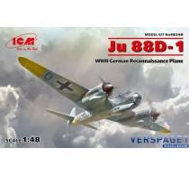 Ju 88D-1 WWII German Reconnaissance Plane -48240