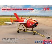 KDA-1 (Q-2A) Firebee with trailer -48400