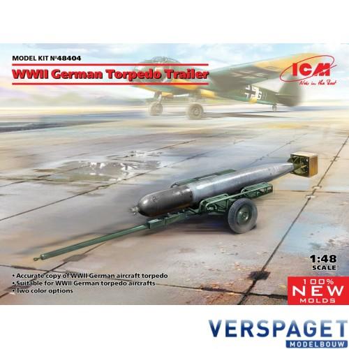 WWII German Torpedo Trailer -48404