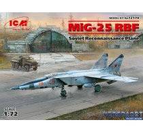 MiG 25 RBF Soviet Reconnaissance Plane -72174