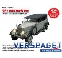 WWII German Staff Car, snap fit/no glue -72472