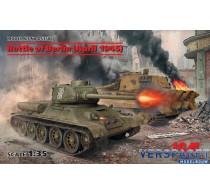 Battle of Berlin (April 1945) - T-34-85, King Tiger -DS3506