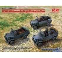 WWII Wehrmacht le.gl.Einheitz-Pkw (le.gl.Pkw Kfz.1,le.gl.Einheitz-Pkw Kfz.2, le.gl.Einheitz-Pkw Kfz.4) -DS3513