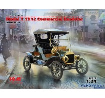 Ford Model T 1912 Commercial Roadster, American Car -24016
