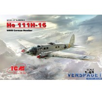 He 111H-16, WWII German Bomber -48263