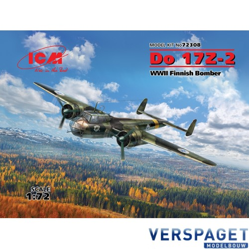 Do 17Z-2, WWII Finnish Bomber -72308