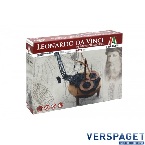 Leonardo Da Vinci PENDULUM CLOCK -3111