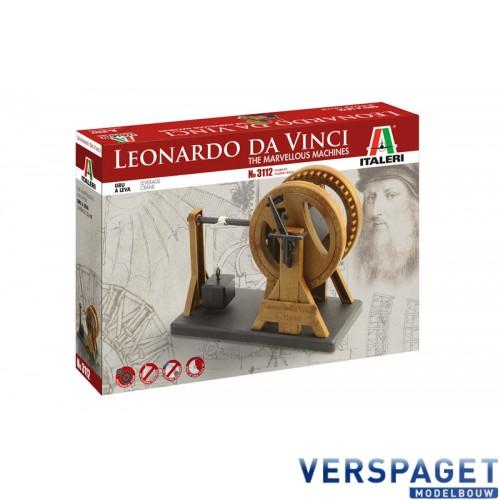 Leonardo Da Vinci LEVERAGE CRANE -3112