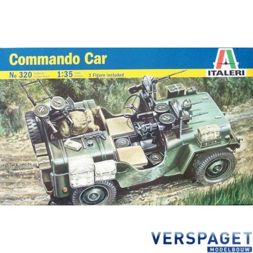 Commando Car  Willys MB Jeep -320