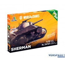 SHERMAN - WoT - Easy to Build -35101