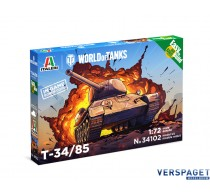 T-34/85 - WoT - Easy to Build -34102