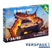 T-34/85 WORLD OF TANKS  -34102