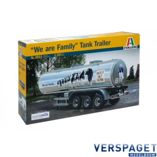 """""""We Are Family""""Tank Trailer -3911"""