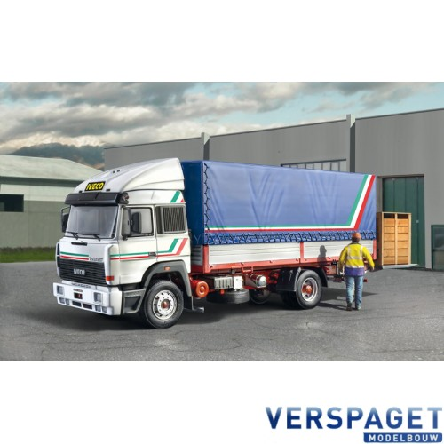 IVECO TURBOSTAR 190-42 CANVAS WHIT ELEVATOR -3939