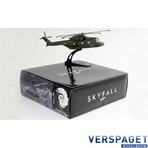 AW 101 SKYFALL - Die Cast Model -48182