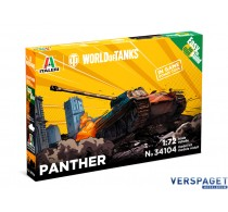 Panther German Medium Tank - WoT - Easy to Build -35104