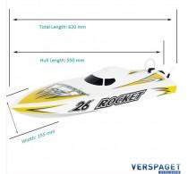 ROCKET V3 2.4G RTR RACING BOAT -JY8651