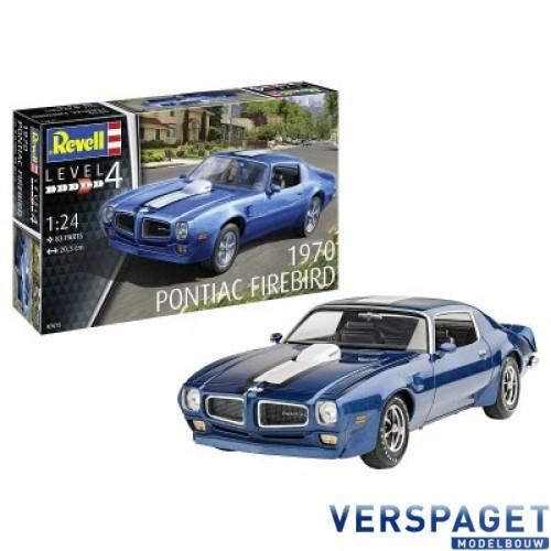 Pontiac Firebird 1970 Modelset & verf & Ljm & Penseeltje-67672