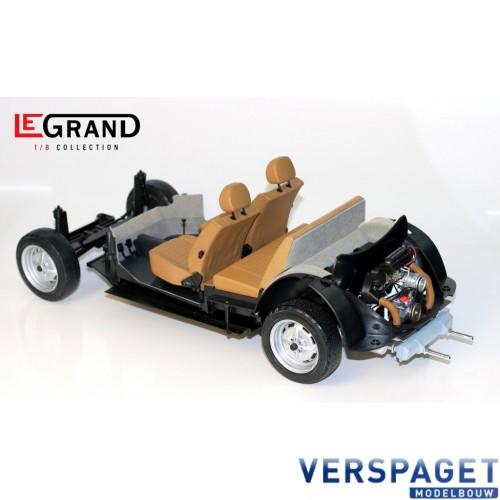 VW Kever Cabriolet 1303 Geel -LE100