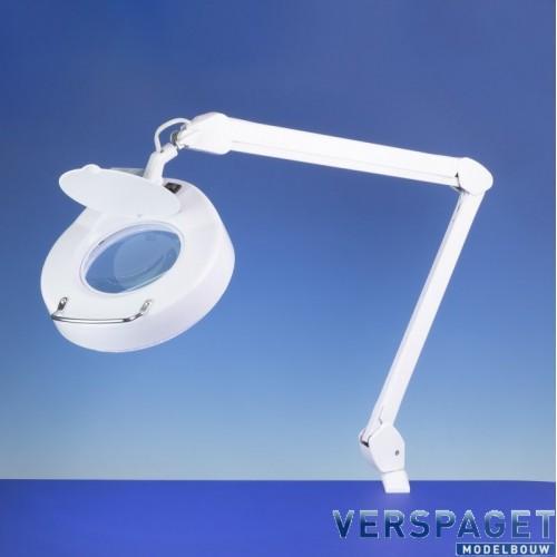Loeplamp Classic Round Led Verlichting & Verstelbare Arm-LC8064LED
