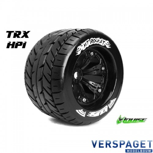 MT Rocket 1-8 Monster Truck Onroad Band & Velg -LR-T3117BH