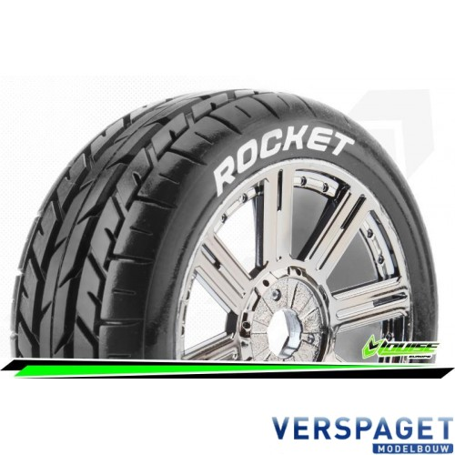B-Rocket 1-8 Buggy Band & Velg -LR-T3190SBC