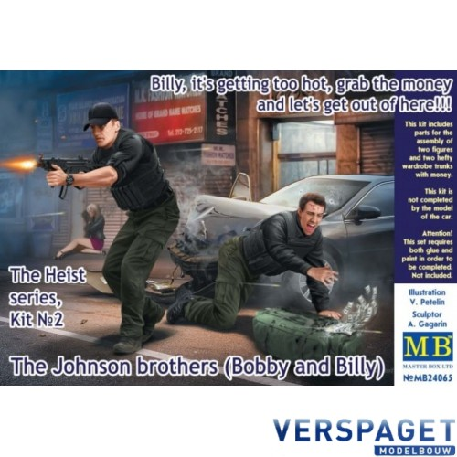 The Heist series, Kit №2 The Johnson brothers (Bobby and Billy) -MB24065