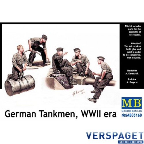 German Tankmen, WWII -MB35160