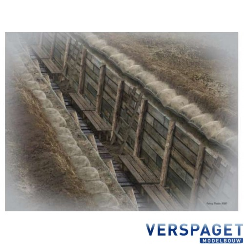 The trench.WWI & WWII -MB35174