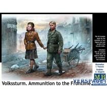Volkssturm. Ammunition to the Frontline -MB35182