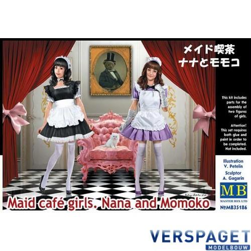 Maid cafè gilrs Nana and Momoko -MB35189