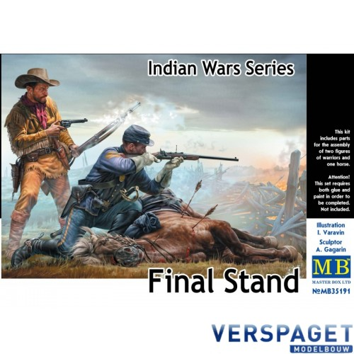 """Final Stand""  Indian Wars Series -MB35191"