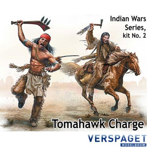 "Tomahawk Charge"" Indian Wars series, kit 2 -MB35192"
