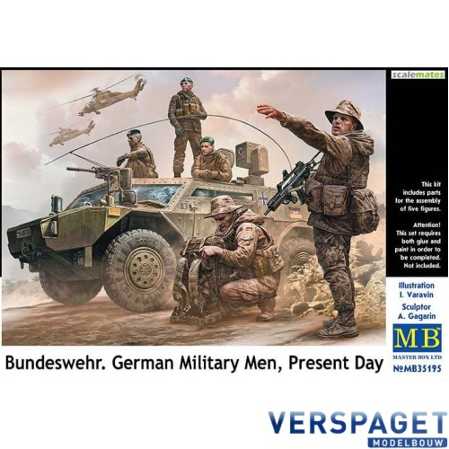 Bundeswehr German military man -MB35195
