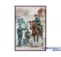 Urgent Dispatch German Military Men. WWII  -MB35212