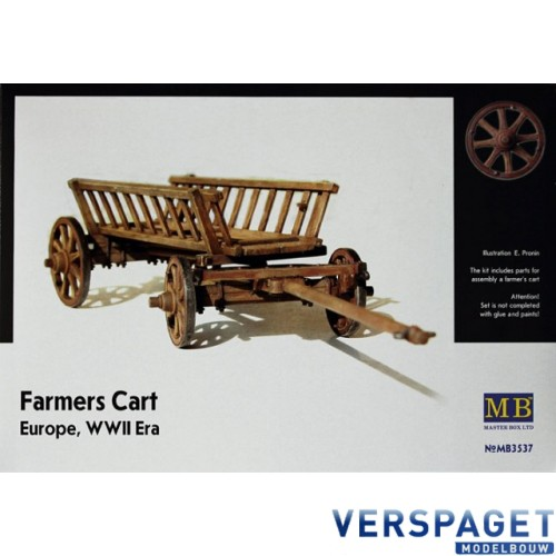 Farmers Cart  Europe, WWII -MB3537