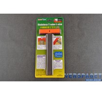 Stainless T Ruler L-size -09987