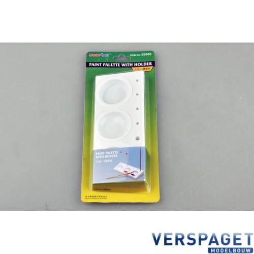 Verf palet & Penseelhouder -09960
